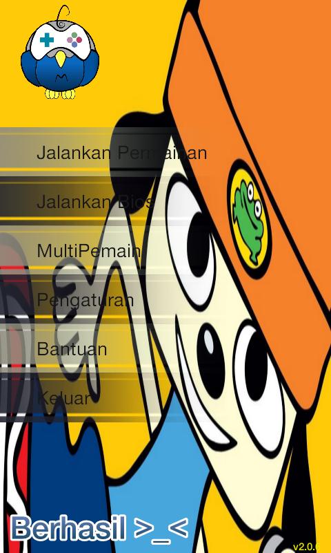 Hasil Mengganti Wallpaper ePSXe Android